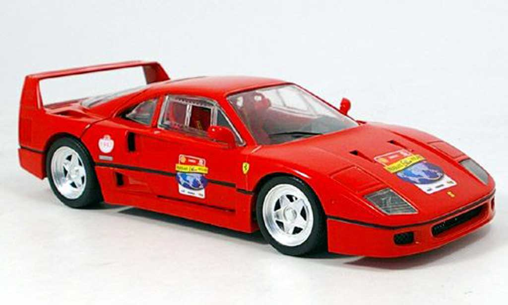Ferrari F40 1/18 Hot Wheels red 60th anniversary ferrari diecast