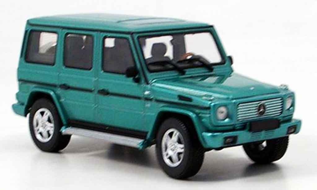 Mercedes Classe G 1/43 Autoart LWB grun miniature