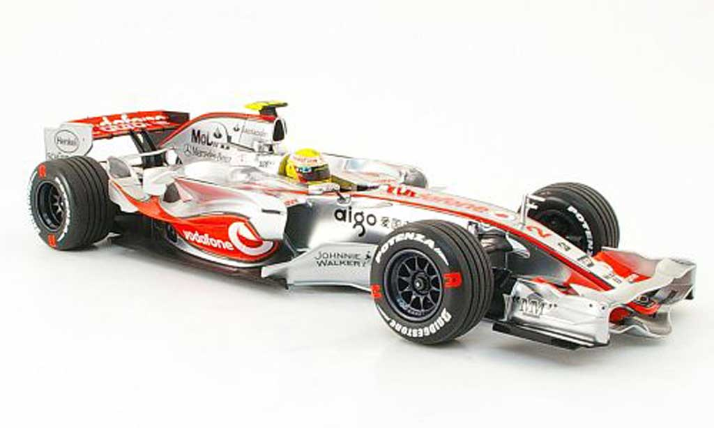 Mercedes F1 1/18 Minichamps mclaren vodafone mp 4/22 hamilton erster sieg 2007 miniature