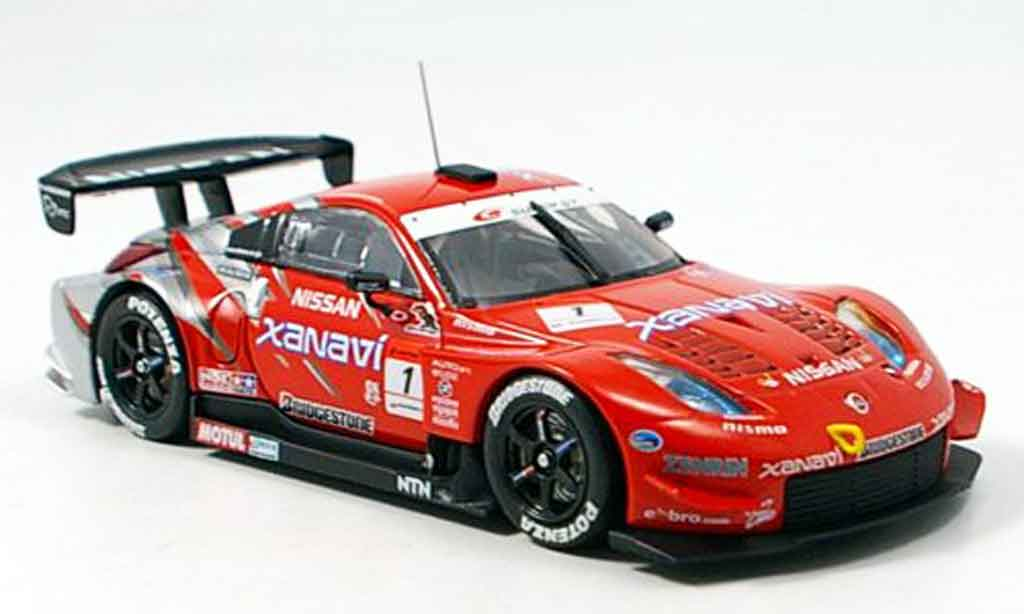 Nissan 350Z 1/43 Ebbro Super GT Xanavi diecast model cars