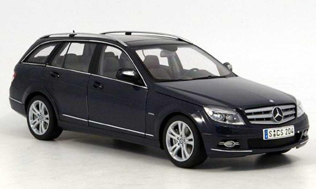 Mercedes Classe C 1/18 Autoart T-Modell (S204) grigio Avantgarde modellino in miniatura
