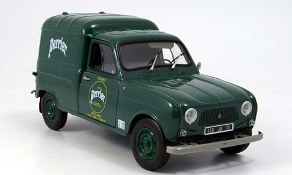 Renault 4 F4 1/18 Norev lieferwagen perrier 1965 diecast