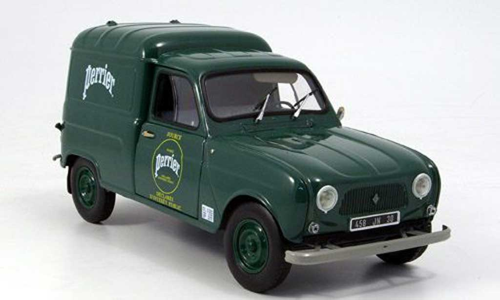 Renault 4 F4 1/18 Norev F lieferwagen perrier 1965 miniature