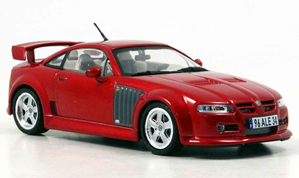 MG X Power 1/43 Norev Version Anglaise red 2004 diecast model cars
