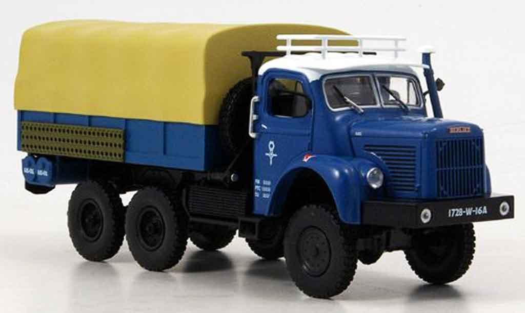 Berliet GBC 1/43 Norev 8 6x6 Gazelle bleu 1959