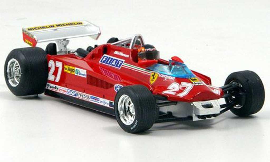 Ferrari 126 1981 1/43 Brumm CK Turbo Villeneuve Runde 57-63 GP Kanada miniature