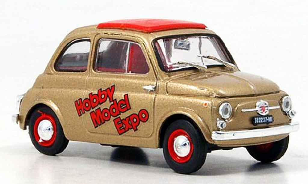 Fiat 500 1/43 Brumm D or Hobby Model Expo 2007 miniature
