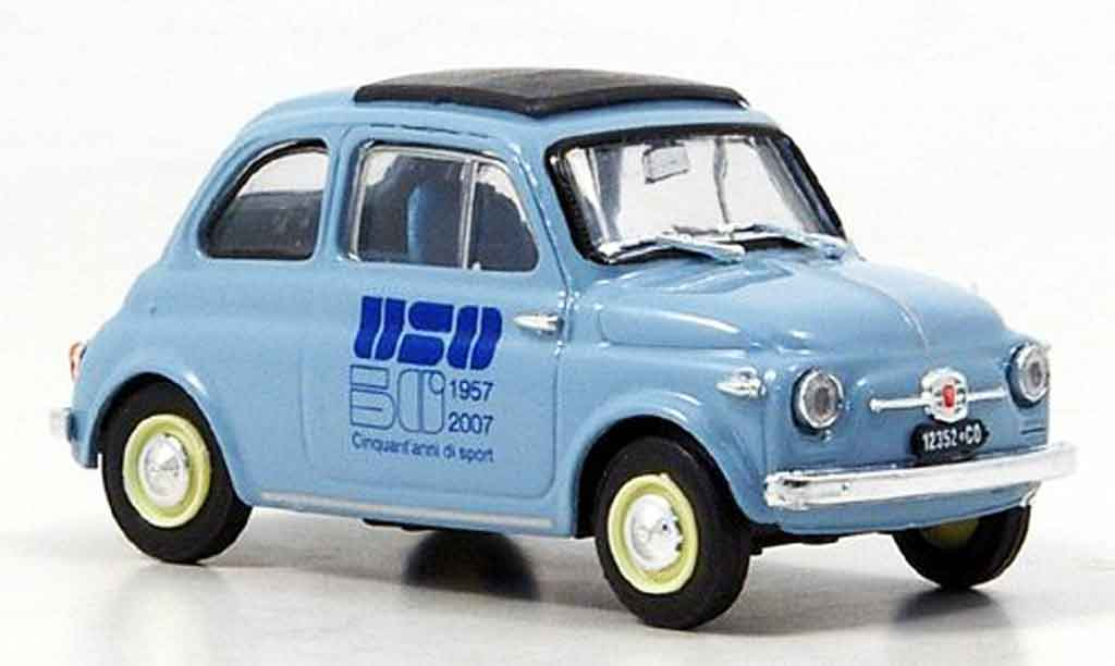 Fiat 500 1/43 Brumm 50 Jahre Unione Sportiva Oltronese 1959 diecast model cars
