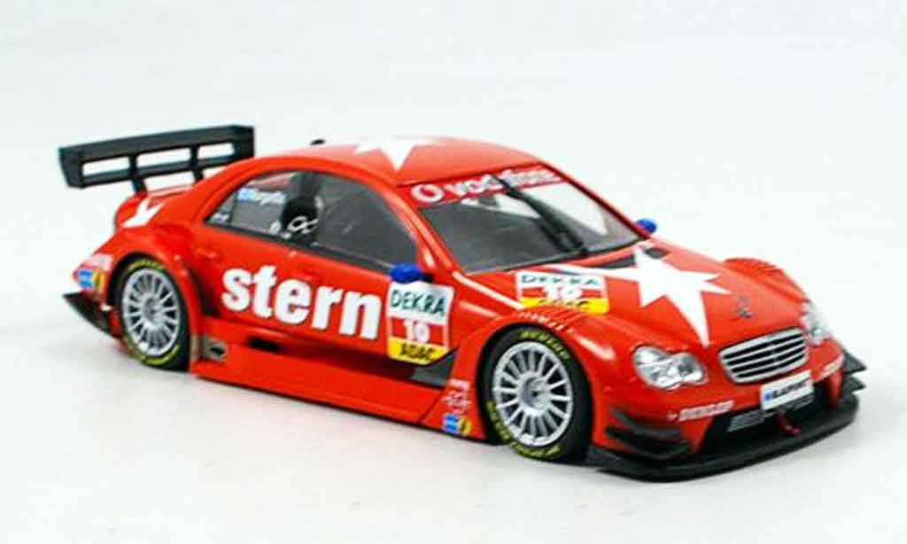 Mercedes Classe C 1/43 Minichamps No.10 DTM 2007 miniature