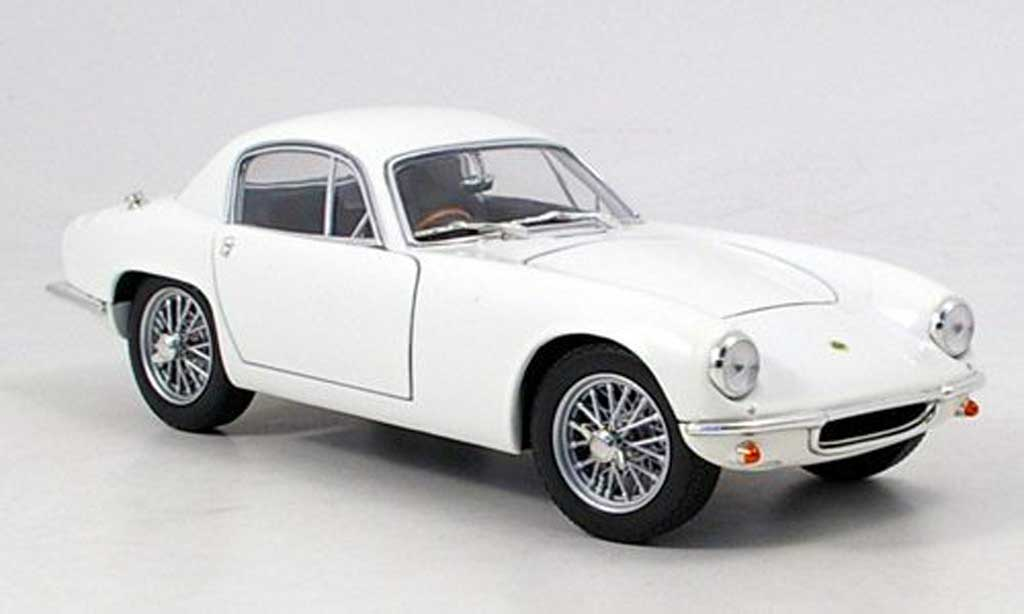 Lotus Elite 1/18 Yat Ming blanche 1960 miniature
