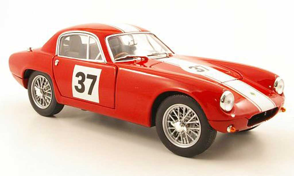 Lotus Elite 1/18 Yat Ming race version no.37 rouge 1960 miniature