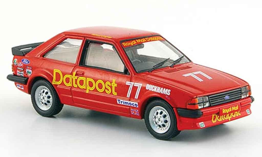 Ford Escort RS 1600 1/43 Vanguards i No.77 Datapost BSCC 1984 MK3 diecast model cars