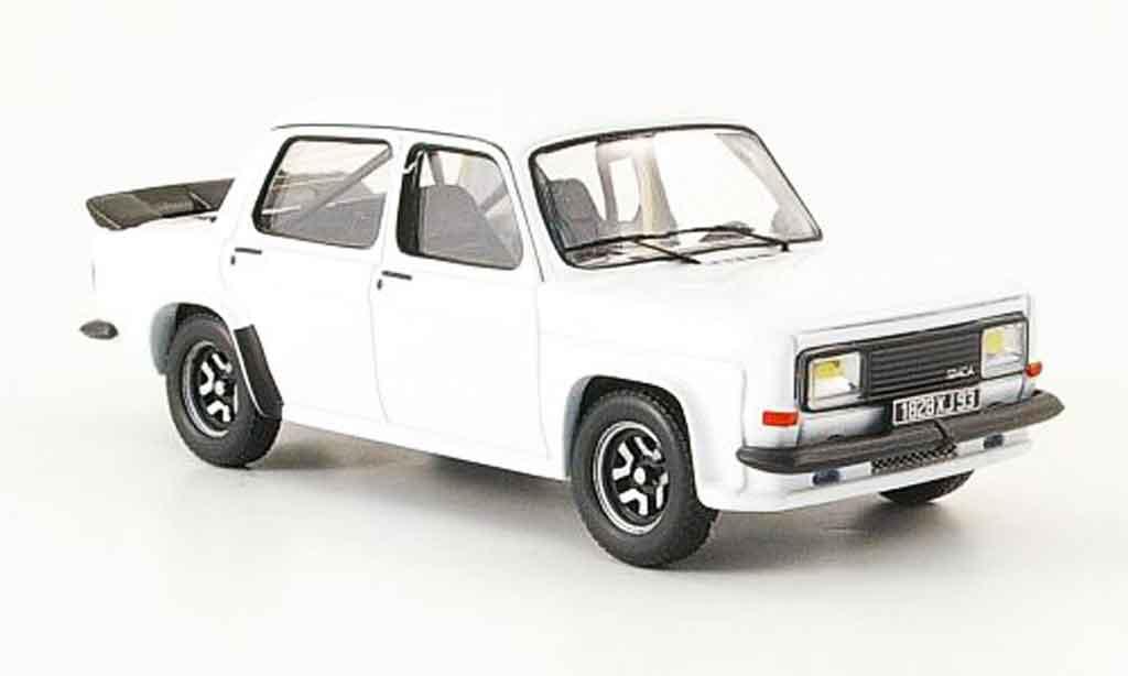 Simca 1000 1/43 IXO rallye 3 white 1978 diecast