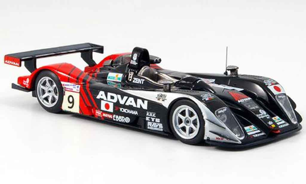 Dome S101 2004 1/43 IXO No.9 Kondo Racing Le Mans miniature