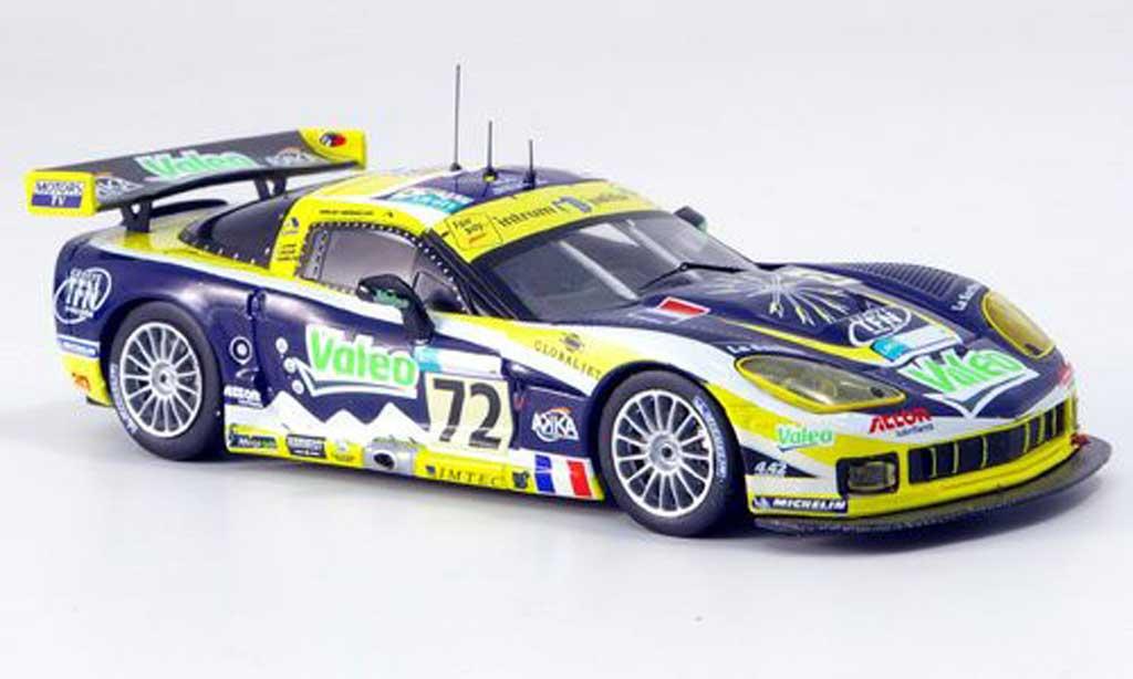 Chevrolet Corvette C6 1/43 IXO R No.72 Le Mans 2007 diecast