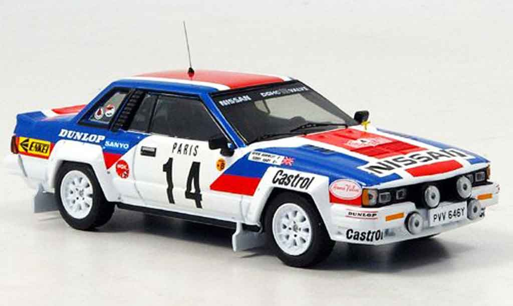 Nissan 240 RS 1/43 IXO No.14 Kaby Rally Monte Carlo 1984 miniature