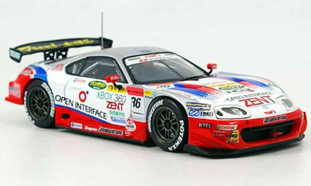 Toyota Supra 1/43 Ebbro open interface no. 36 2005 coche miniatura