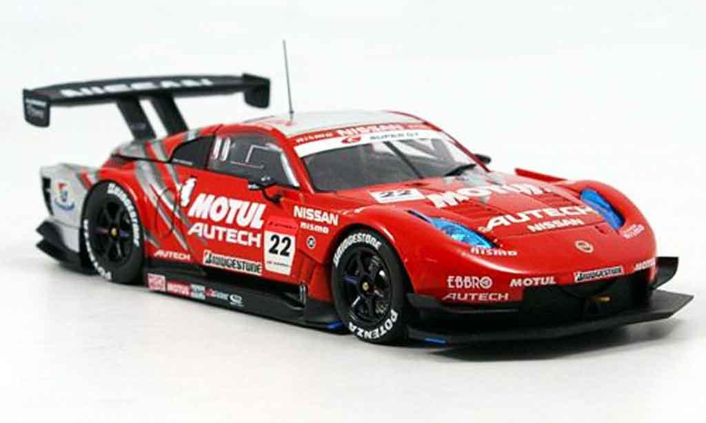 Nissan 350Z 1/43 Ebbro JGTC Motul Autech Z SuperGT No.22 2007
