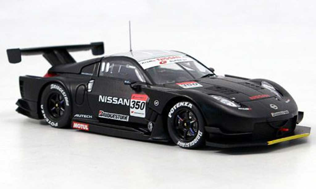 Nissan 350Z 1/43 Ebbro Nismo Z SuperGT Test Car No. 350 2007 diecast