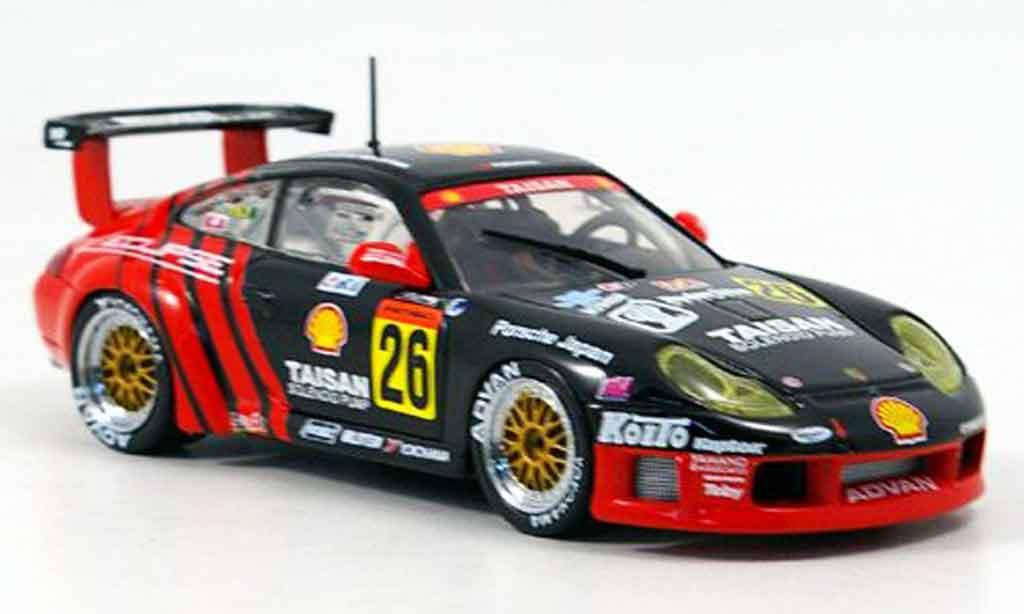 Porsche 996 GT3 1/43 Ebbro R No.26 Taisan 2000 miniature