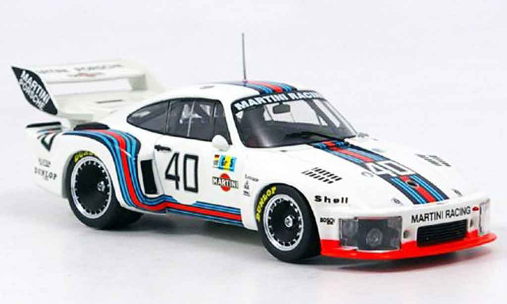 Porsche 935 1976 1/43 Ebbro No.40 Le Mans diecast model cars