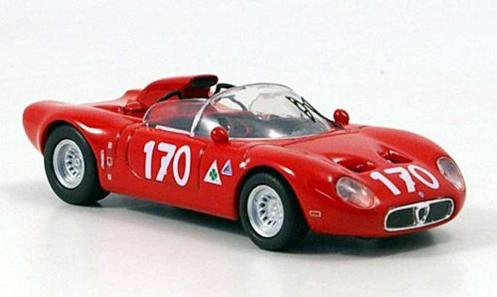 Alfa Romeo 33.2 1967 1/43 M4 Fleron No.170 Targa Florio miniatura