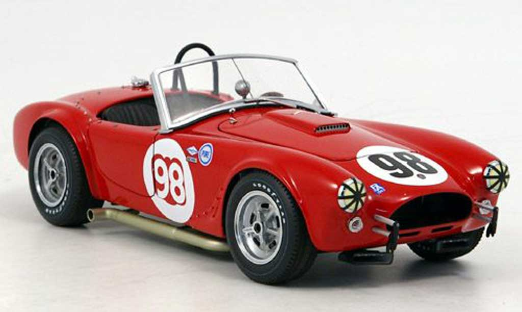 Shelby Ac Cobra 1/18 Exoto competition no.98 road america 500 1963 miniature
