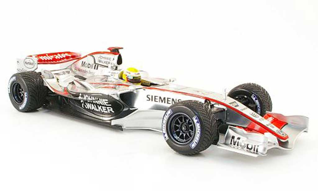 Mercedes F1 1/18 Minichamps mclaren test hamilton 2006 diecast