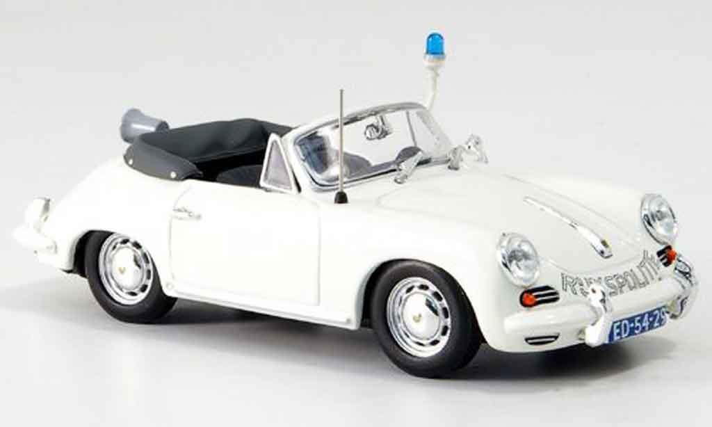 Porsche 356 1963 1/43 Minichamps C Cabrio Rijkspolitie miniature