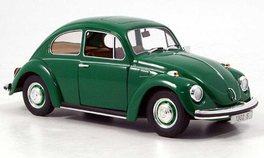 Volkswagen Kafer 1/18 Revell 1302 green coxinelle diecast