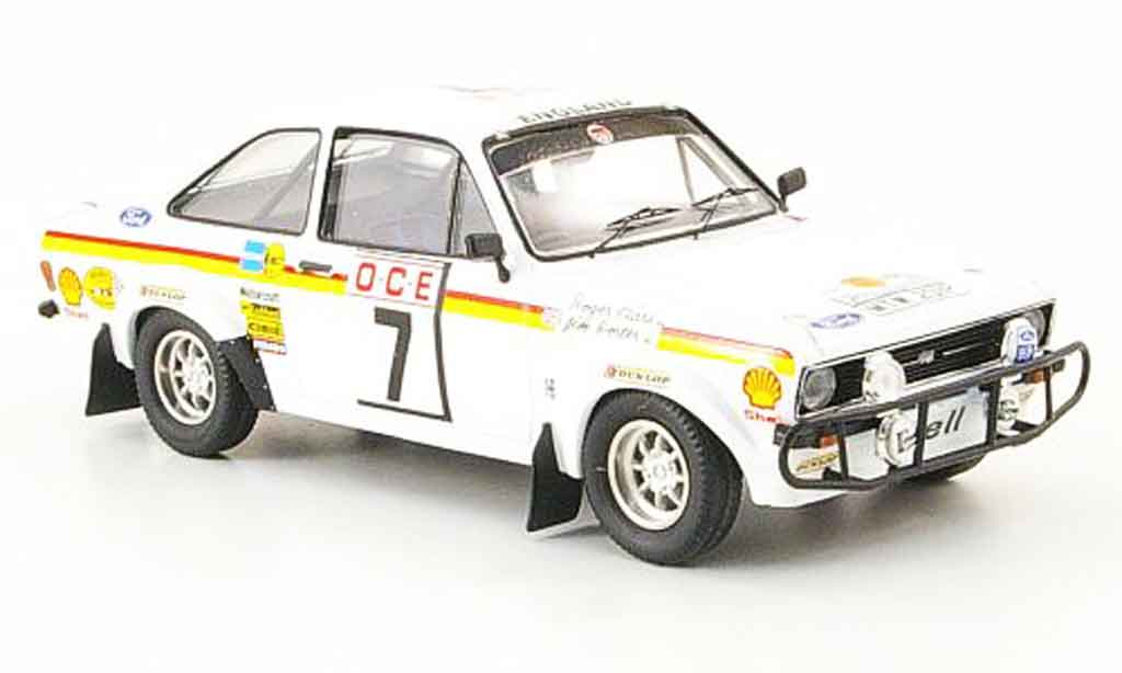 Ford Escort MK2 1/43 Trofeu MK2 Clark Rally Marokko 1976 diecast model cars