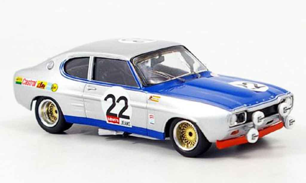 Ford Capri 2600 1/43 Trofeu Glemser Sieger Spa 1971 miniature