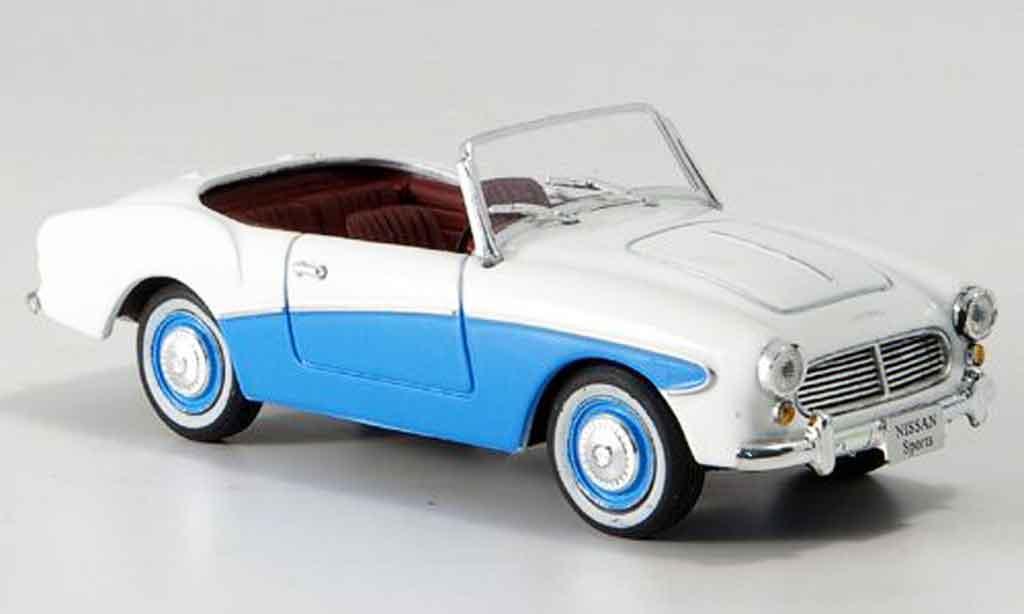 Nissan Sports 211 1/43 Norev bleu blanche 1959