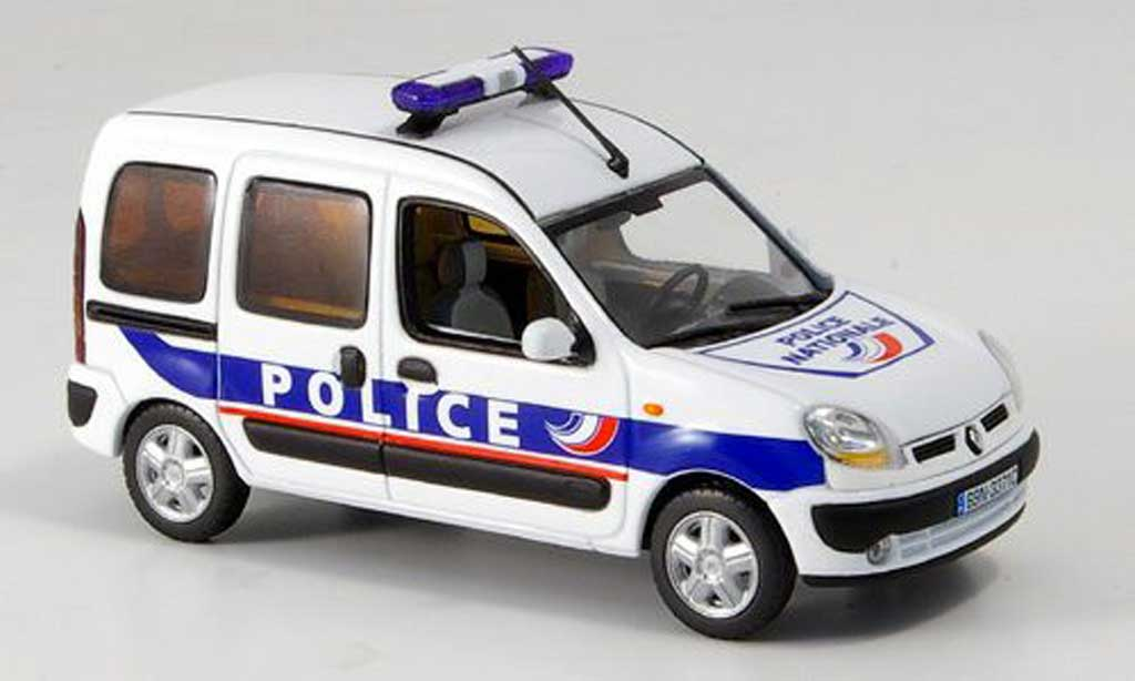 Renault Kangoo 1/43 Norev Polizei Nationale 2008 diecast model cars