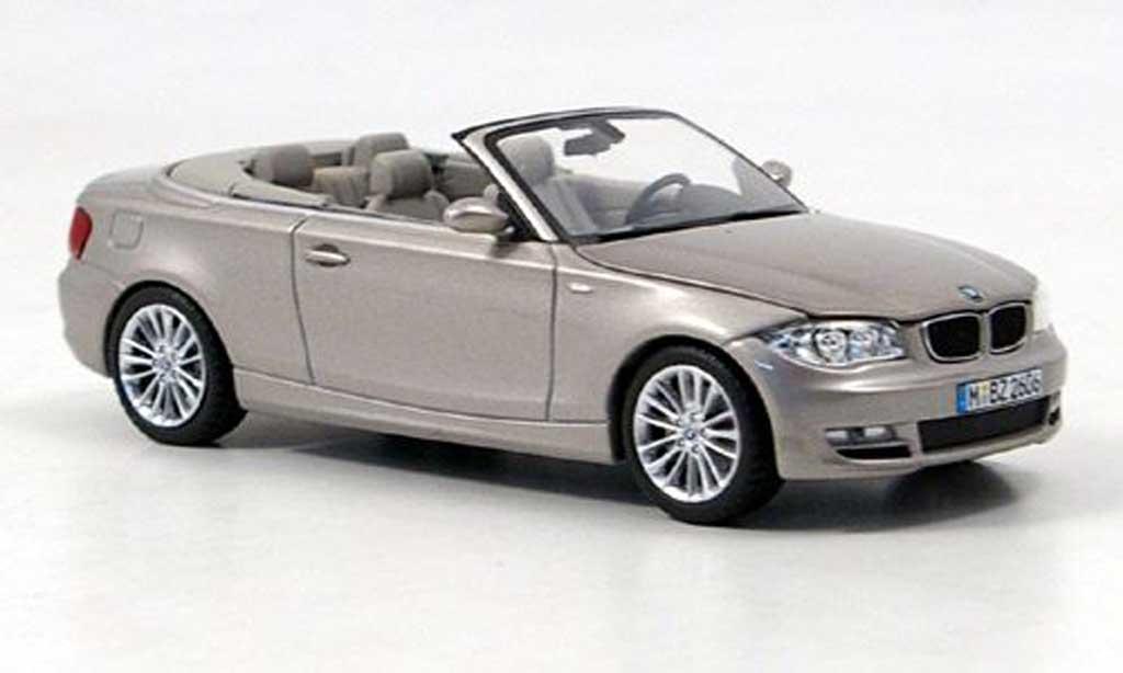 Bmw 125 E88 1/43 Minichamps i Cabrio beige miniature