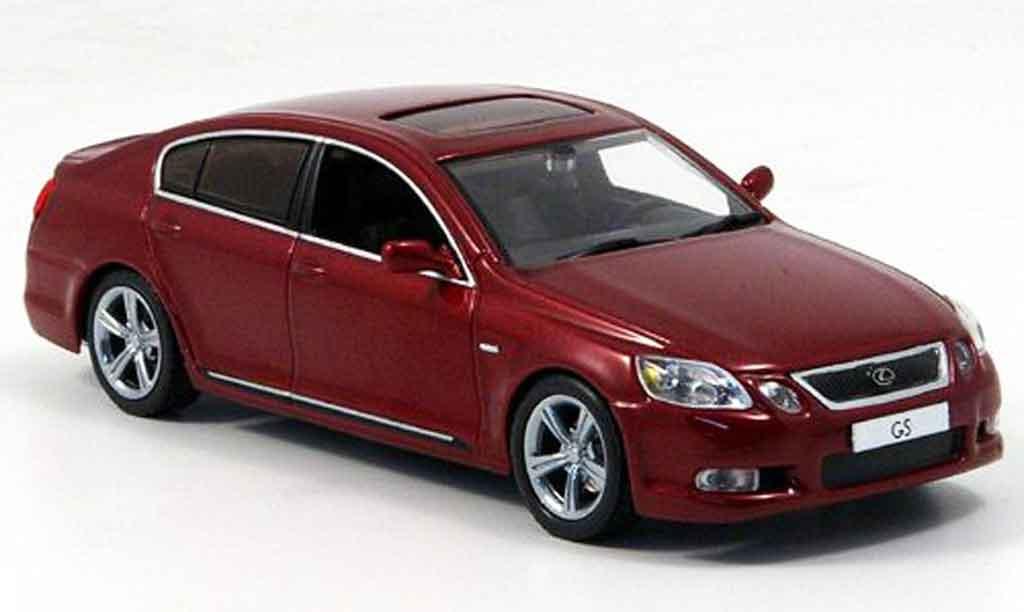 Lexus GS 430 1/43 J Collection rouge 2006