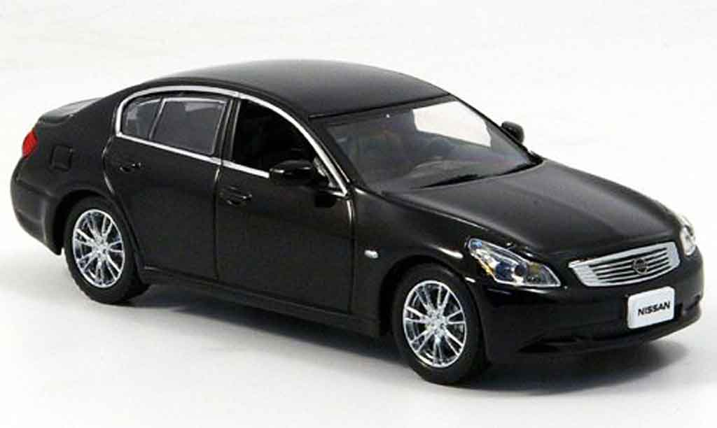 Nissan Skyline 350 GT 1/43 J Collection black 2006 diecast model cars