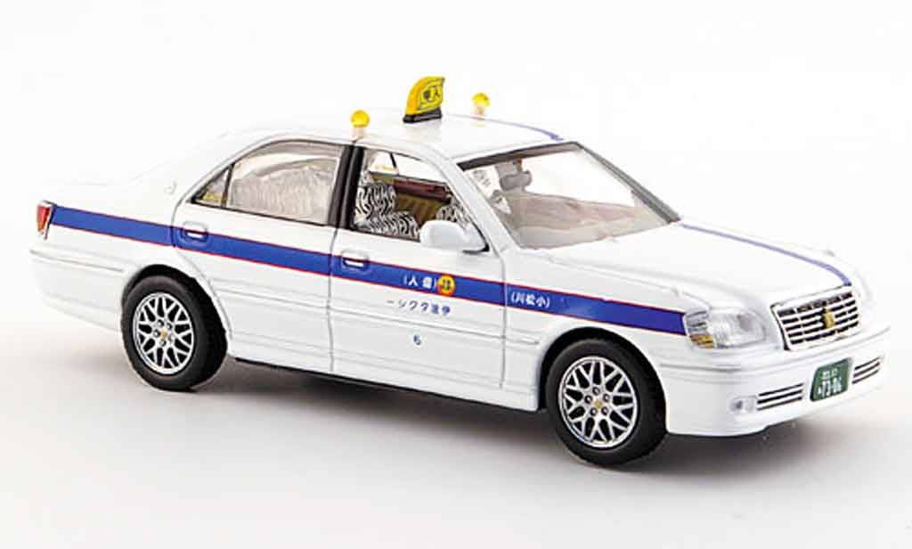 Toyota Crown 1/43 J Collection taxi tokyo 2000 miniature