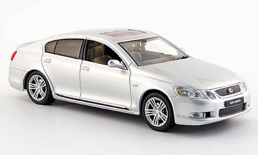 Lexus GS 450 1/43 J Collection h grise metallisee 2006