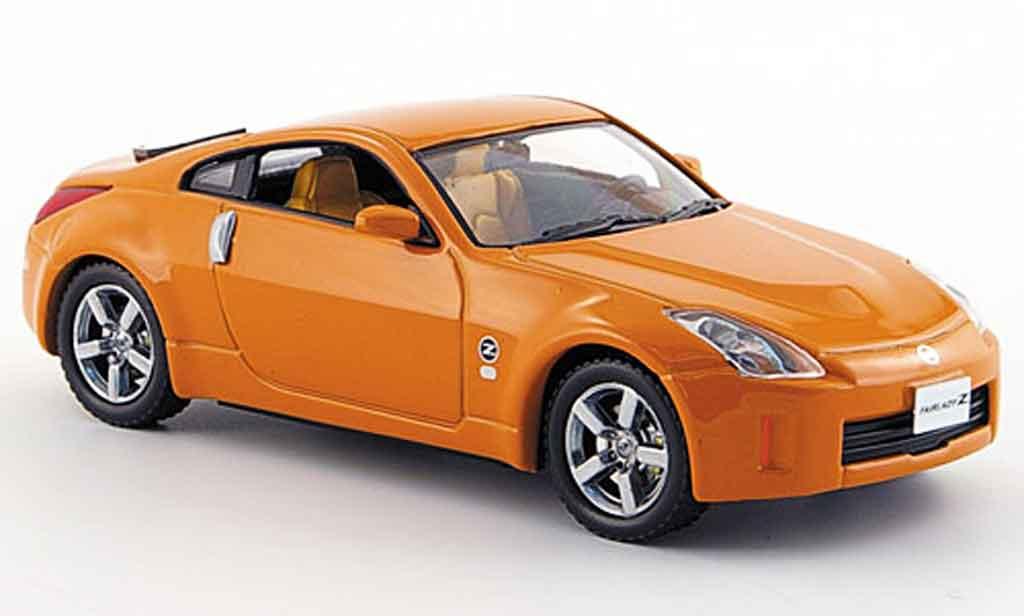 Nissan 350Z 1/43 J Collection orange Facelift 2007 diecast model cars