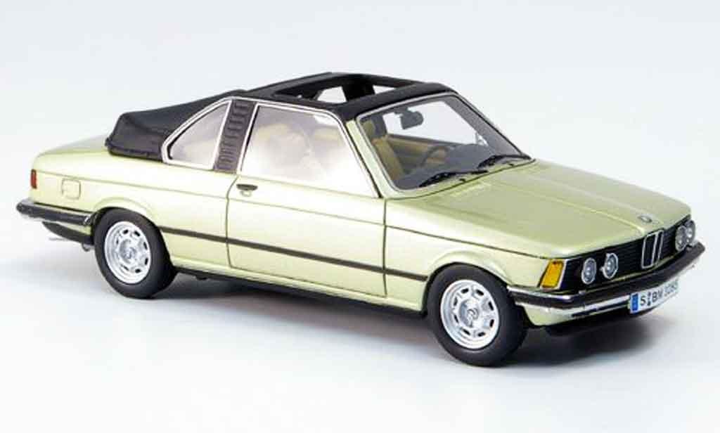 Bmw 323 1/43 Neo (E21) Baur Cabrio 1979 diecast