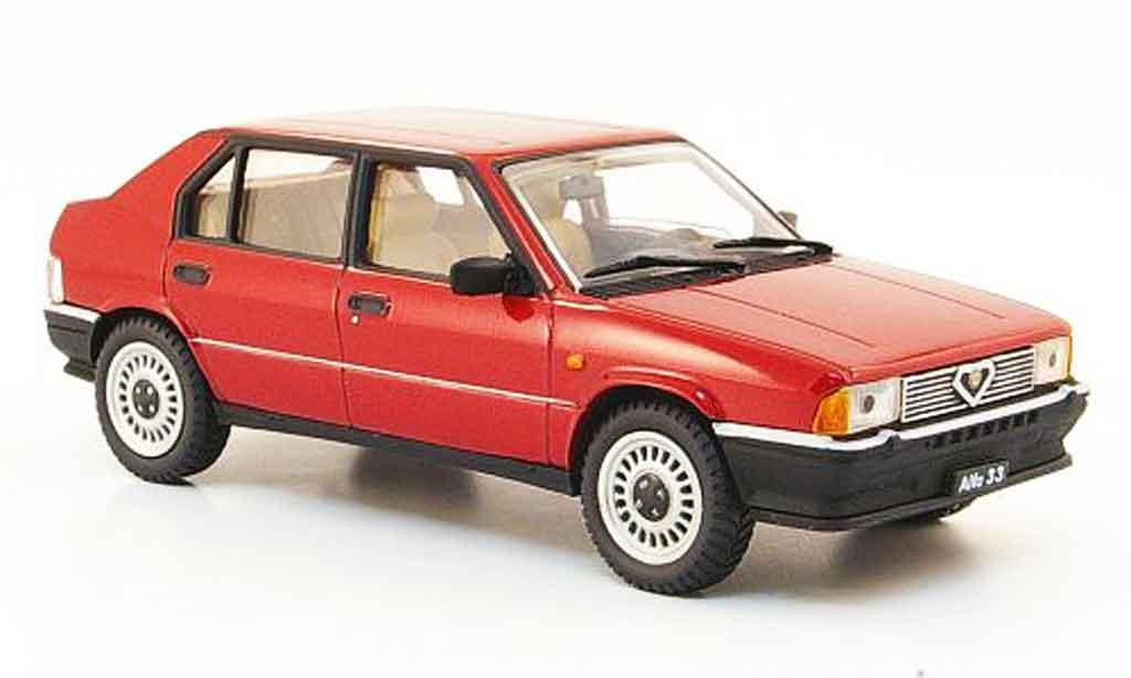 Alfa Romeo 33 1.3 1/43 Pego rouge 1983 miniature