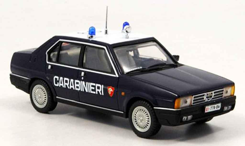 Alfa Romeo 90 1/43 Pego berline carabinieri 1984 diecast