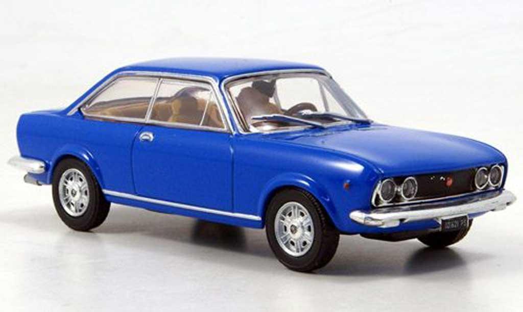 Fiat 124 1/43 Starline Sport Coupe bleu 1969 diecast