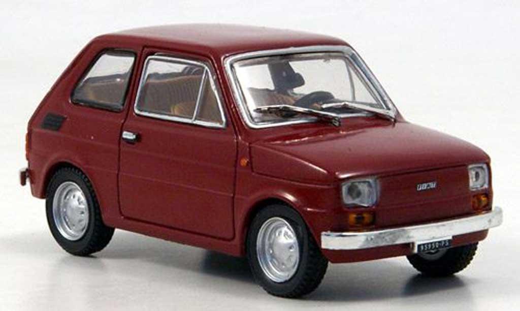 Fiat 126 1/43 Starline dk. rouge 1972 miniature