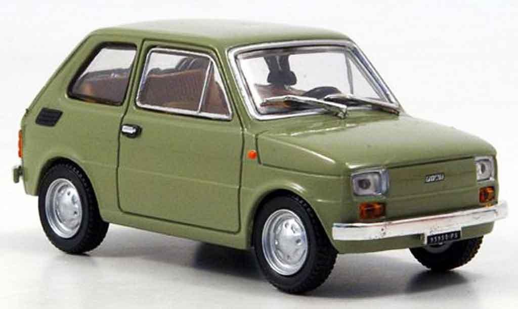 Fiat 126 1/43 Starline olivverte 1972 miniature