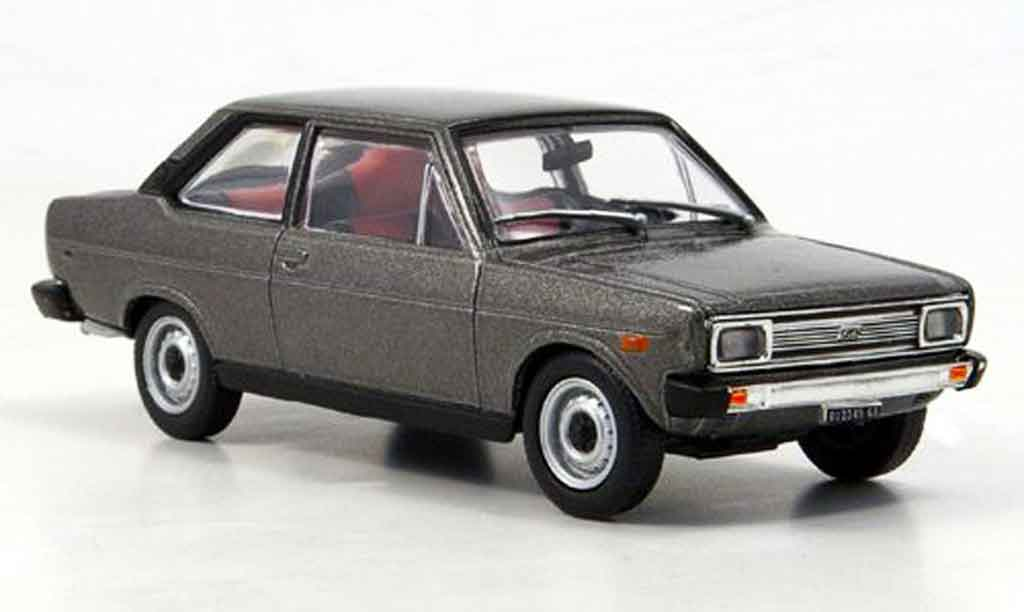 Fiat 131 1/43 Starline Mirafiori anthrazit 1971 miniature