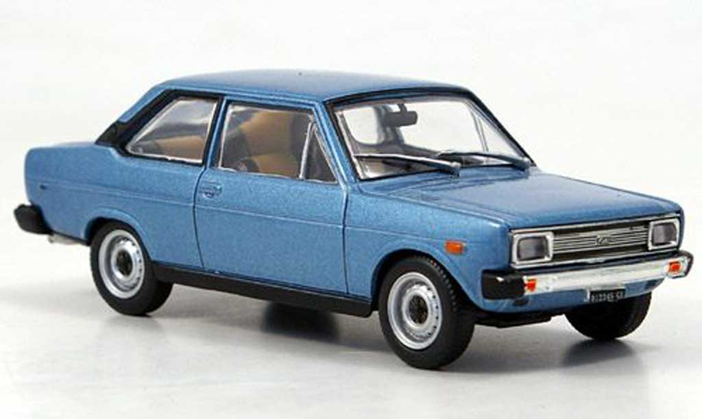 Fiat 131 1/43 Starline Mirafiori met. bleu 1971 coche miniatura