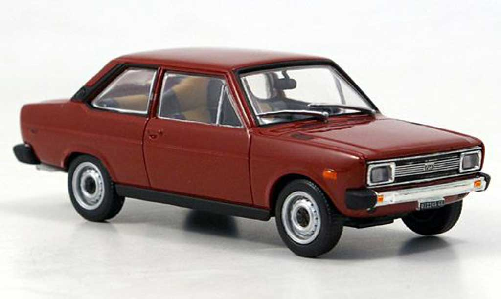 Fiat 131 1/43 Starline Mirafiori rouge 1971 miniature