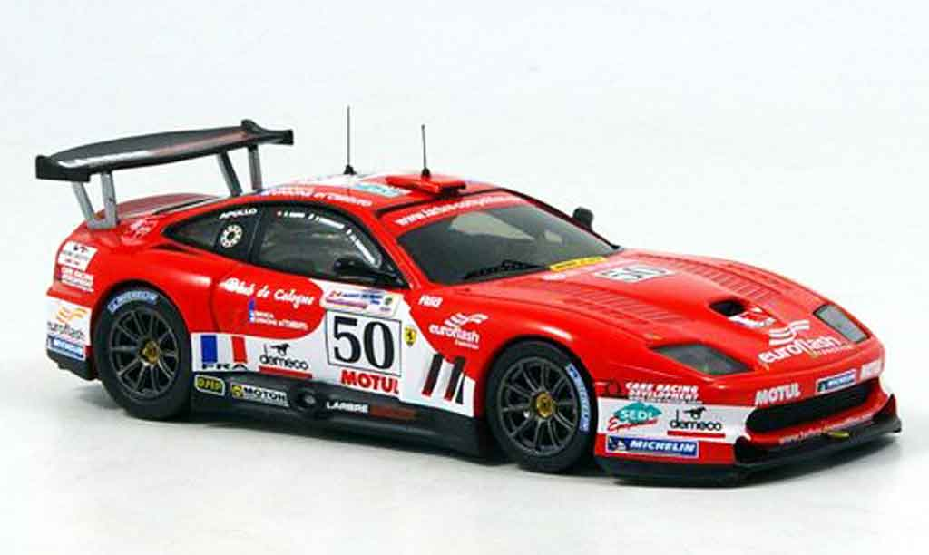 Ferrari 550 Maranello 1/43 IXO no. 50 le mans 2006 diecast model cars